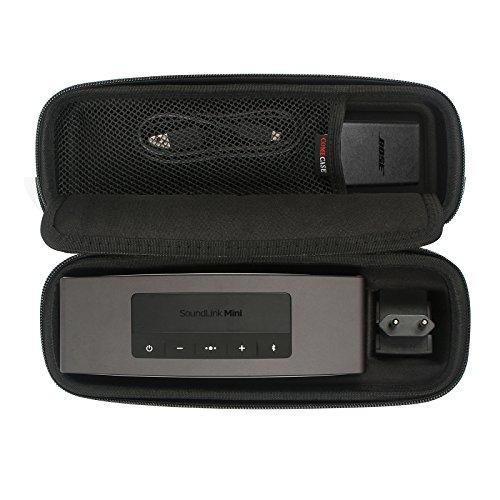 Viaggio Borsa duro Copertina Per Bose Soundlink Mini/Mini 2 Altoparlante portatile senza fili Bluetooth. Adatta il caricatore da parete e la base di ricarica. Di Comecase