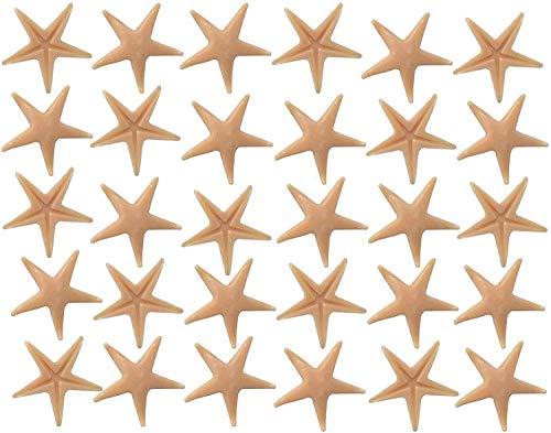 musykrafties Zeesterren Zee Ster 30-delig Aquarium Terrariums Miniatuur Tuin Fee Tuin Poppenhuis Taart Topper Scrapbook Kunststof Decoratie