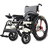 FXDCQC Intelligente Elektrorollstuhl Faltbar Leicht, Elektro Mobilitätshilfe Elektrischer Rollstuhl, Tragbarer Medizinischer Leichte Roller,Tragbare Ältere Behinderte Hilfe Auto