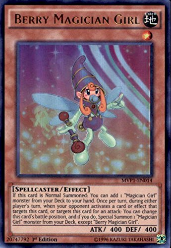 YU-GI-OH! - Berry Magician Girl (MVP1-EN014) - The Dark Side of Dimensions Movie Pack - 1st Edition - Ultra Rare