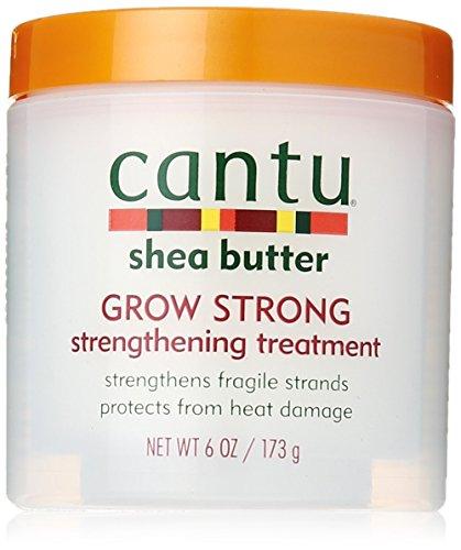 Cantu Shea Butter Grow Strong Strengthening Treatment 6 Ounce (177ml)