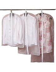 Przezroczyste pokrowce na garnitur odzież ochrona płaszcz pyłoszczelna plastikowa torba do przechowywania oszczędzająca miejsce torby podróżne rozmiar 60 * 80 cm