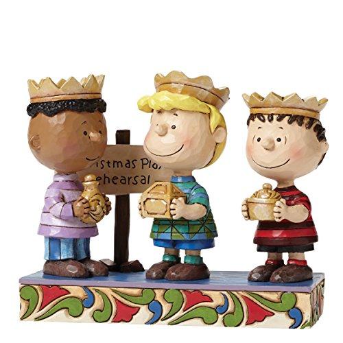 Peanuts von Jim Shore Peanuts Krippenspiel Figur