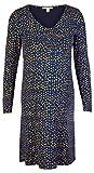 Esprit Maternity Dress Nursing LS AOP Vestido, Night Sky Blue-485, S para Mujer