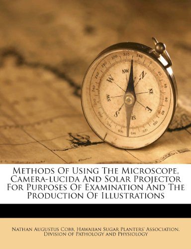 Methods Of Using The Microscope, Camera-lucida And Solar Projector For Purposes Of Examination And The Production Of Illustrations