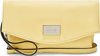 حقيبة طويلة تمر بالجسم للسيدات من ناين ويست - صفراء