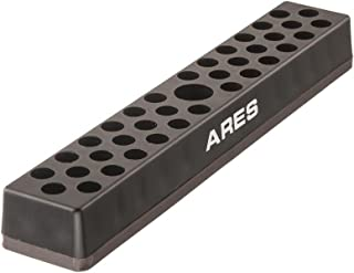 ARES 70080-37 Hole Hex Bit Organizer with Strong Magnetic Base - Keep Your Favorite Specialty, Drill, Tamper & Quick Change Bits Conveniently Organized and Accessible