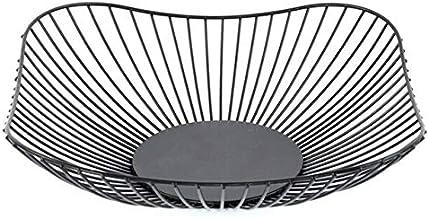 Battre Metal hollow Storage basket Nordic wrought fer fruit basket de mode européenne fruits plate household bread basket