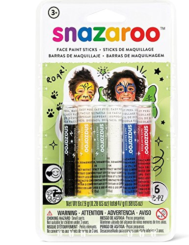 Generique - 6 Sticks Maquillage Mixte Snazaroo