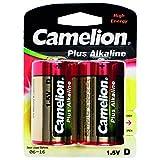 Camelion 11000220 - Pack de 2 pilas alcalinas, 1.5 V