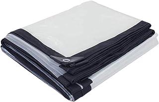 CKSMD Lona Transparente Cubierta de Lluvia Hoja de plástico Impermeable al Aire Libre a Prueba de Polvo a Prueba de Viento...