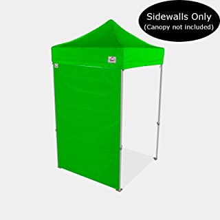 Impact Canopy 5-Foot Canopy Tent Wall, Sidewall Only, Lime Green