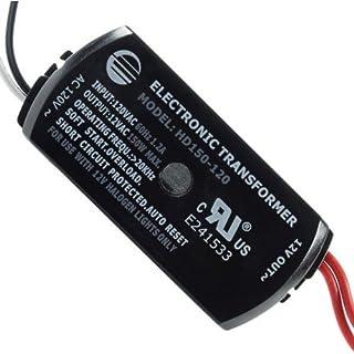 150 Watt - Step Down Transformer - 120 Volt to 12 Volt - For Use with 12V Halogen Lamps - PLT BSET150