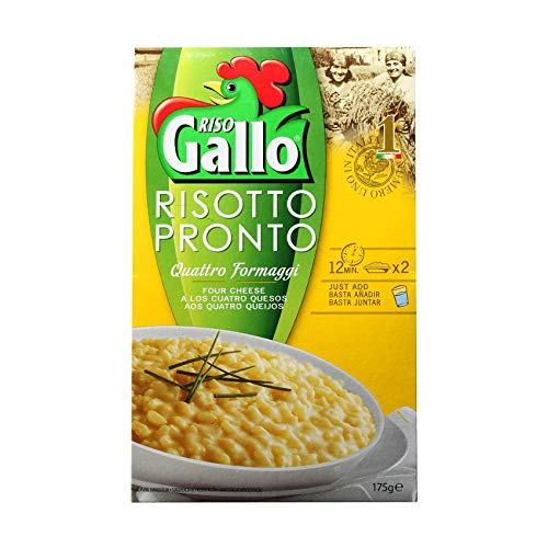 Riso Risotto Gallo Pronto 4 Fromages 175G
