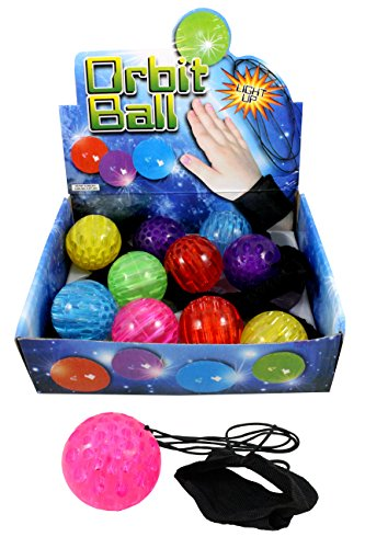 Creation Gross 6er Set Springball Neon Armband & Schnur blinkt und leuchtet (9800100)