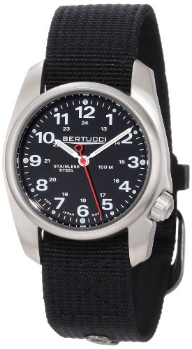 Bertucci Uomo 10004 A-1S Durable Stainless Steel Field Orologio