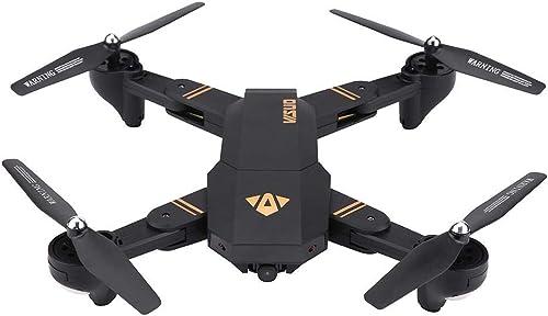 Dilwe RC Quadcopter, 2,4 GHz Faltbare 170 Weißinkel H  Halten Headless Modus Fernbedienung Drohne(2MP)