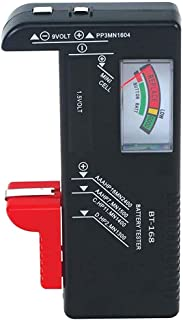 Haobase Battery Tester, Universal Battery Checker for AA AAA C D 9V 1.5V Button Cell Batteries
