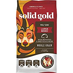 Solid Gold - Wolf King with Real Natural Bison & Brown Rice Dry Dog Food