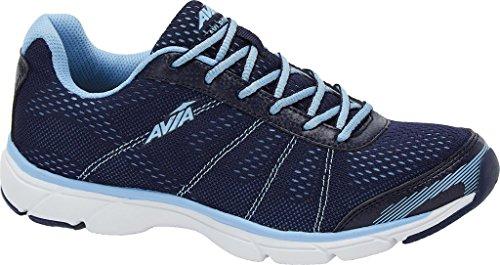 Avia Womens Rove Walking Casual Shoes, Navy, 6