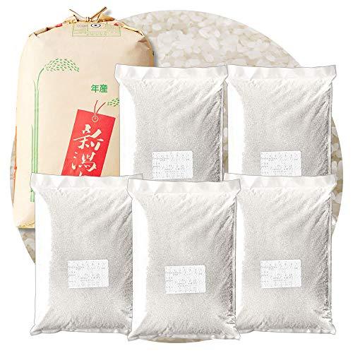 新潟県産 小国産コシヒカリ 白米 22.5kg (4.5kg×5 袋) 令和2年産 棚田米