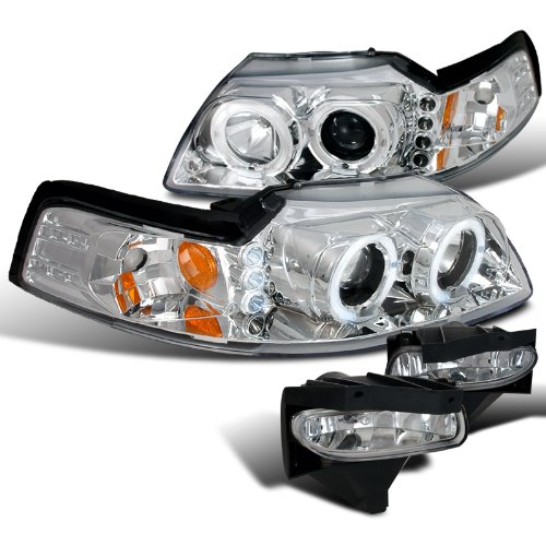 03 mustang halo headlights - 4
