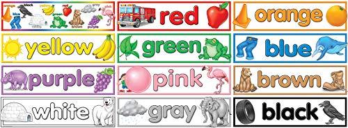 Teacher Created Resources Colors Headliners (4482),Multi Color