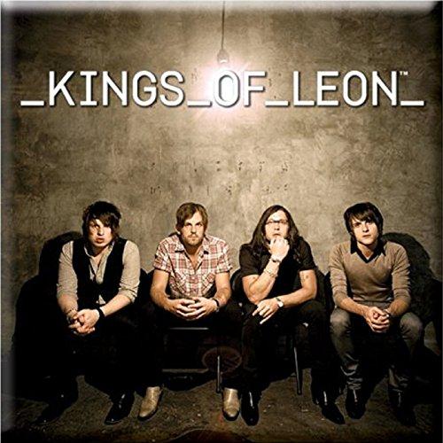 Kings of Leon Kühlschrankmagnet Band Photo Nue offiziell 76mm x 76mm