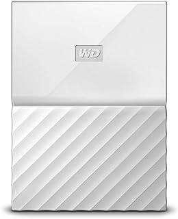 WD HDD ポータブル ハードディスク 2TB USB3.0 ホワイト 暗号化 パスワード保護 3年保証 My Passport WDBS4B0020BWT-WESN