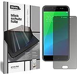 dipos I Blickschutzfolie matt kompatibel mit Ulefone Gemini Pro Sichtschutz-Folie Bildschirm-Schutzfolie Privacy-Filter