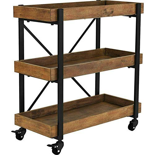 FGM Bar Cart Black Kitchen Table Kitchen Storage Kitchen cart Rolling cart Bar Cabinet Kitchen Storage cupboards Cart with Wheels Storage cart Kitchen Shelves Kitchen Shelf Kitchen cupboards