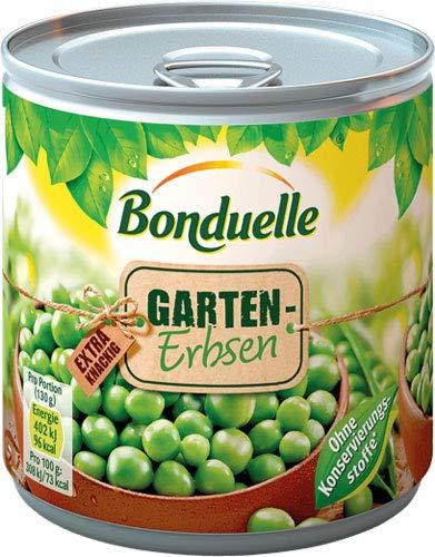 Bonduelle Garten-Erbsen - 12x 400 g
