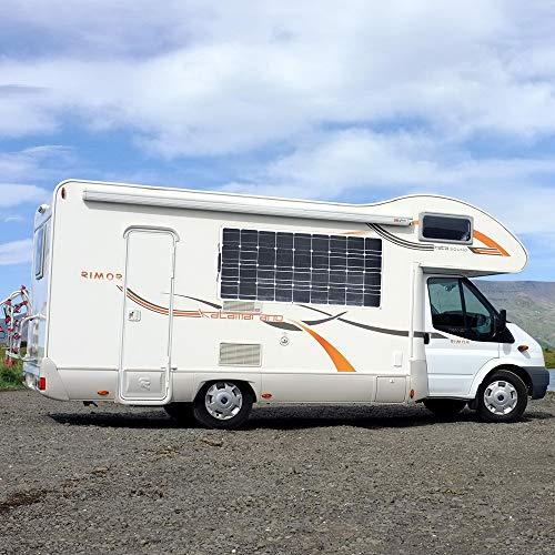 XINPUGUANG Kit Pannello Solare 200 w 2 pz 100 w 18 v pannelli solari flessibile modulo monocristallino 20A regolatore solare per camper, caravan, barca, auto, batteria 12 v Energia ricarica