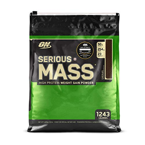Optimum Nutrition (ON) Serious Mass High Protein...