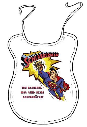 die stadtmeister Erwachsenen-Latz Schlabberman: Ich kleckere - was sind Deine Superkräfte?