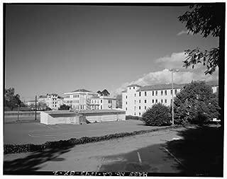 HistoricalFindings Photo: Mare Island Naval Shipyard,Hospital Headquarters,Johnson Lane,Vallejo,CA,HABS,1