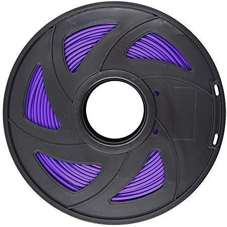new arrival 3D discount Printer Filament - 1KG(2.2lb) 1.75mm / 3 discount mm, Dimensional Accuracy PLA Multiple Color (Purple,3mm) online sale