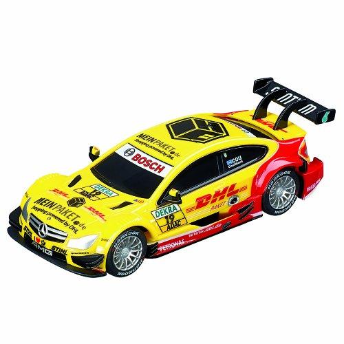 Carrera Go - 20061275 - Radio Commande, Véhicule Miniature et Circuit - AMG Mercedes C-Coupe DTM - D Coulthard - No.19