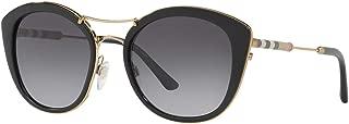 Burberry Women's 0BE4251Q 3001T3 53 Sunglasses, Black/Polargreygradient