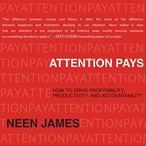 Attention Pays audiobook cover art