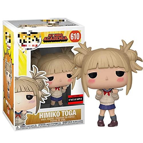 Figura Pop My Hero Academia Katsuki Bakugo Dabi Dabi Himiko Toga Vinilo Edición Limitada Muñecas Figura Modelo Figura para Niños Novio Cumpleaños