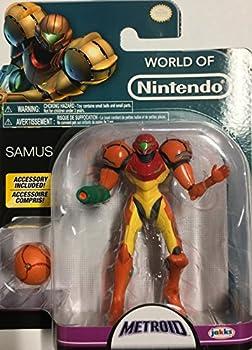 Nintendo World of Metroid Series 1-2 Samus Action Figure [with Morph Ball]
