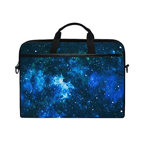 Laptop Case, Computer Sleeve Protective Bag Galaxy Star Field Pattern 3 Layer with Durable Zipper for Lenovo Hp MacBook Pro Neoprene Notebook 14 15 inch
