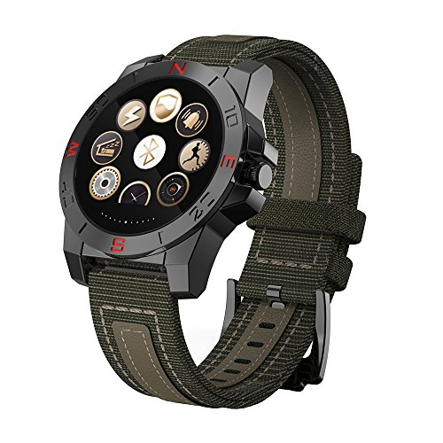 Shuusisses Reloj Bluetooth PulsometroReloj Bluetooth Niño - Reloj Deportivo Bluetooth - Reloj Deportivo SMA10 Interfaz USB 3, 0 / Vida Anti - Lost - [ Verde ]