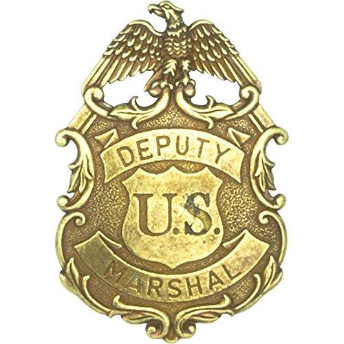Denix Deputy Stanów Zjednoczonych odznaka orła Marszałkowskiego, mosiądz