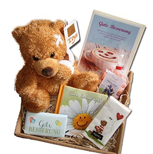 Gute Besserung Geschenke | Genesungsgeschenke | Gute Besserung Geschenk Kinder | Genesungswünsche | Gesundheit Geschenkkörbe | Gute Besserungs Wünsche Präsentkorb | Geschenke Krankenhaus