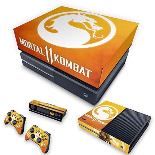Capa Anti Poeira e Skin para Xbox One Fat - Mortal Kombat 11