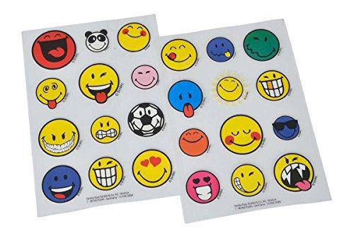 Simba 109363088 - Smiley Bügelsticker