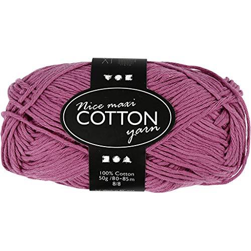 Lana Grossa-COTONE-Fb 45 Foncé Violet 50 g Laine Créatif