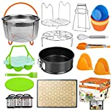 Upgraded 28pcs Accessories for Instant Pot Compatible with Pressure Cooker 5,6,8 Qt, Includes...